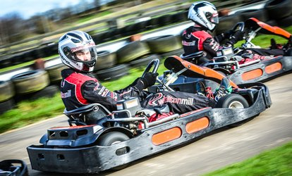 30 Laps of Go-Karting for Up to Eight at Whilton Mill