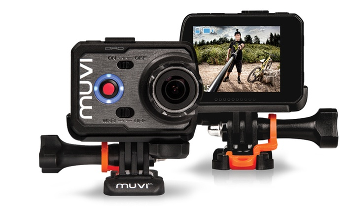 Groupon Goods Global GmbH: Veho Muvi K-Series K-2 Pro Handsfree 12MP Camera With Free Delivery