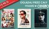 OhKino Wrocław - Wrocław CH Arkady: Bilet na dowolny seans 2D za 15,90 zł ważny przez cały tydzień w Oh Kino (zamiast 26 zł)