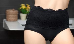 (Mode)  2 ou 4 culottes hautes gainantes -77% réduction
