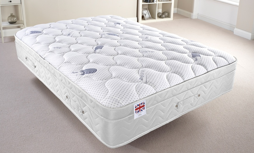 Pure Sleep Memory Foam Mattress with Built-In Topper