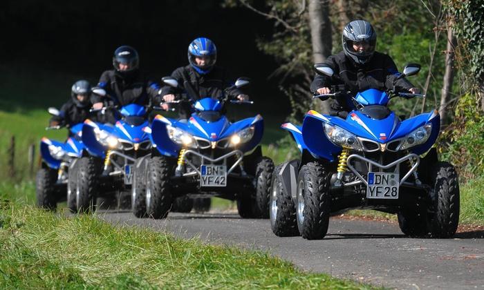2, 3 oder 4 Std. Quad-Tour nach Wahl für 1 oder 2 Personen bei Nordeifelquad (bis zu 28% sparen*)