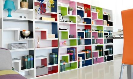 Moduli per libreria modulare bricks groupon goods for Groupon shopping arredamento