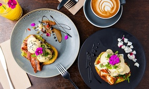Grocer and Grind: Breakfast with Coffee and Juice for Two ($39) or Four People ($75) at Grocer and Grind (Up to $140 Value)