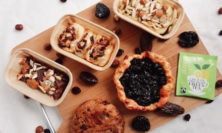 Vegan high teapakket voor 210 personen bij je thuisbezorgd door The Granola Bar NL