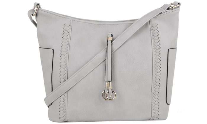 ce7ba3f98cdd9e Up To 63% Off on MKII Katie Crossbody Hobo Bag | Groupon Goods
