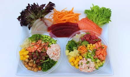 Poke Bowls at Poke Fresh (Up to 40% Off). Two Options Available.