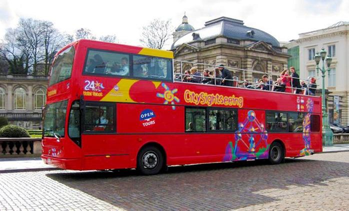 1, 2, 4 ou 6 tickets pour enfant ou adulte pour un tour en bus dans la ville de Bruxelles dès 7 € avec Open Tours