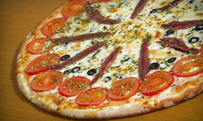 Bella Vista Brazilian Pizza - West Los Angeles: Gourmet Pizza at Bella Vista Brazilian Pizza (Half Off). Six Options Available.