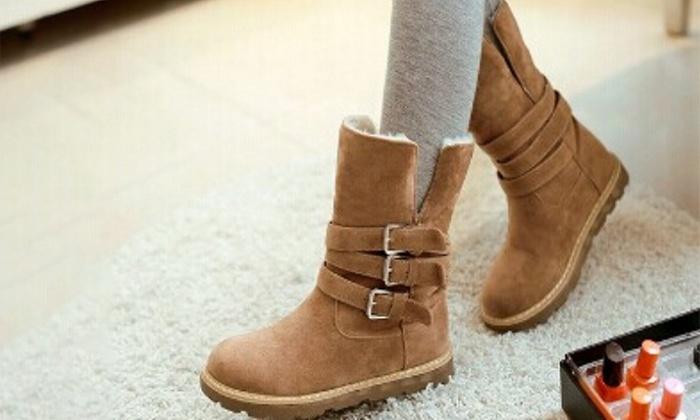 quality design c9916 0f7d5 Warme Damen-Boots für den Herbst | Groupon