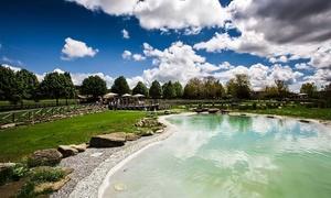 Parco dei Cimini: Ingresso in biopiscina naturale e light lunch con prodotti a km 0 per 2 persone al Parco Dei Cimini (sconto fino a 64%)