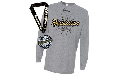Registration for One or Two Adults to Resolution Run 5K/10K on on Saturday, January 6 (Up to 30% Off)