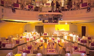 Teatro Riccardi: Dinner Show con Menu à la carte e vino al Teatro Riccardi a Torre Argentina (sconto fino a 51%)