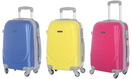 Uno o 2 trolley da cabina ultraleggeri in ABS disponibili in vari colori da 29,99 € (70% di sconto)