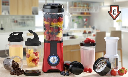 Cooks Professional Multi-functional Blender in a Choice of Colour from £24.98 With Free Delivery (Up to 55% Off)