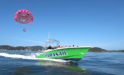 Paihia Parasailing Experience for One ($69) or Two People ($115) at Bay of Islands Parasail (Up to $190 Value)