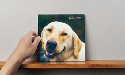 Foto- libro cuadrado con tapa dura fotográfica con Printerpix (hasta 91% de descuento)