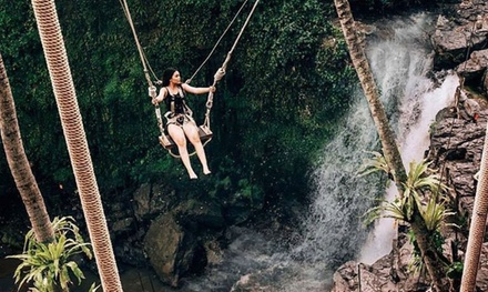 Bali, Ubud: 9Hour Private Tour for Up to Six with Waterfall Swing Experience and Transfers with Bali Sun Tours