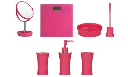 Hot Pink Bathroom Accessories