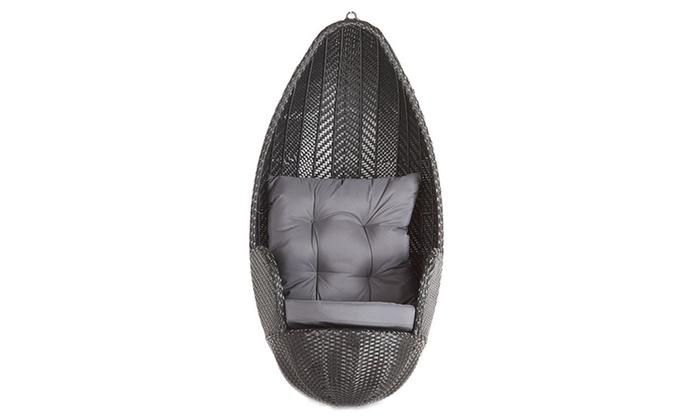 h ngesessel groupon goods. Black Bedroom Furniture Sets. Home Design Ideas