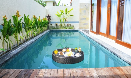 Legian, Bali: 3 to 10 Nights for Two People with Breakfast, Afternoon Tea and Massage at 5* The Sakaye Villas & Spa