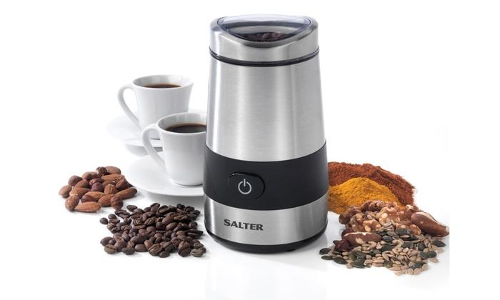 Up To 44 Off Salter Coffee Maker Or Grinder Groupon