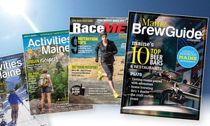 """Activity Maine: One- or Two-Year Subscription to """"Activity Maine"""", """"RaceME"""", and """"Maine Brew Guide"""" (52% Off)"""