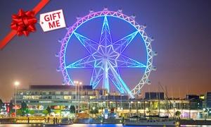 Melbourne Star Observation Wheel: Melbourne Star Observation Wheel - Child ($18) or Adult Pass ($30), Docklands (Up to $35 Value)