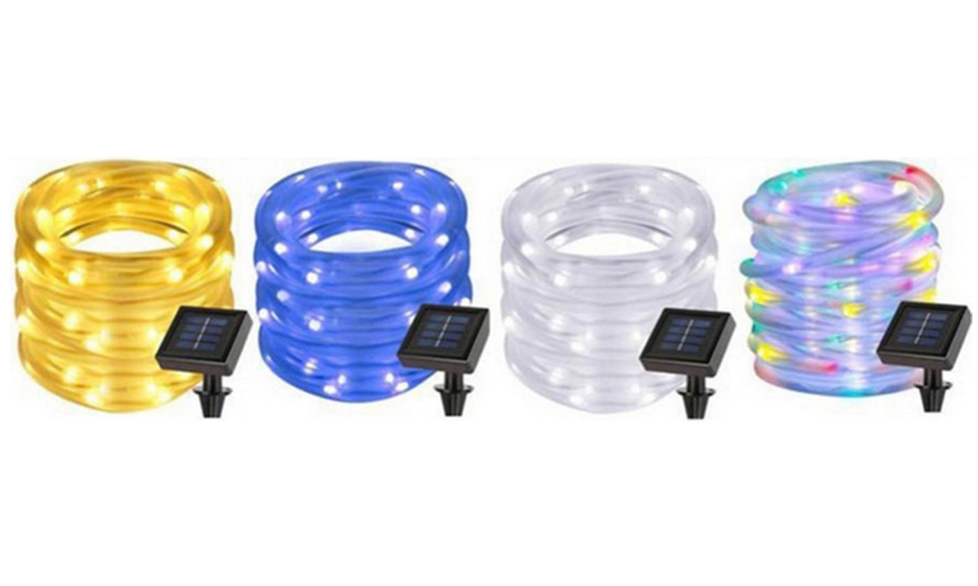 7- or 12-Metre Solar-Powered Tube String LED Lights