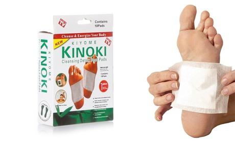 Set de 10, 20, 30, 40 o 50 vendas desintoxicantes para los pies Kinoki