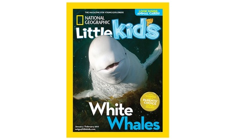 1-Year Subscription to National Geographic Little Kids Magazine (6 Issues)