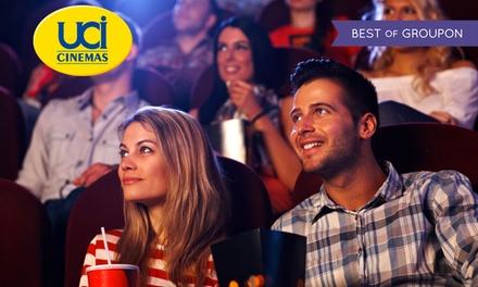 2 o 5 biglietti validi in tutti UCI Cinemas d'Italia