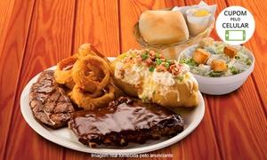 Detroit Steakhouse – Alto da Glória: Detroit Steakhouse – Alto da Glória: aperitivo, entrada, prato principal e sobremesa para até 3 pessoas
