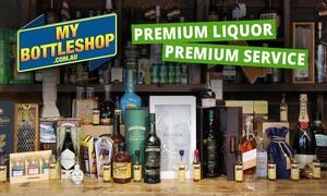 MyBottleShop: $5 for $50 to Spend Online on Spirits, Beer, Wine & Collectible Beverages at MyBottleShop - Min Spend $149