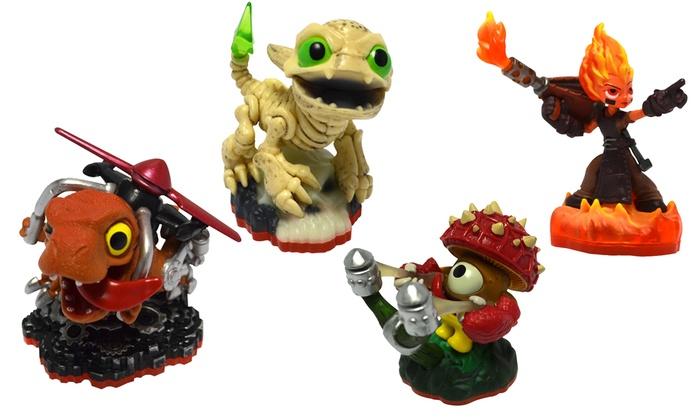 Skylanders Character Pack (4-Pc) | Groupon Goods
