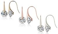 Eclipse Swarovski Crystal Earrings
