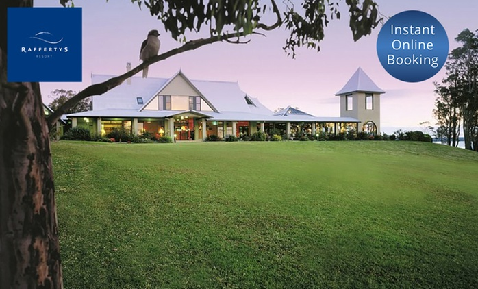 Central Coast: 2 or 3 Nights for Up to Six People with Food and Beverages Credit at Raffertys Resort Lake Macquarie