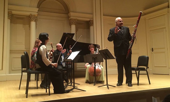 Festival Chamber Music Concert Series - Carnegie Hall-Weill Hall: Festival Chamber Music Concert Series on Select Dates, January 29th–May 12