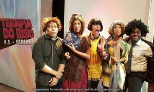 Espetáculo Terapia do Riso: Terapia do Riso 4.5 – Férias – Teatro Miguel Falabella: ingresso individual