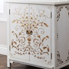 Closeout: Abbyson Living Antique Shanxi Hand-Painted Side Cabinet