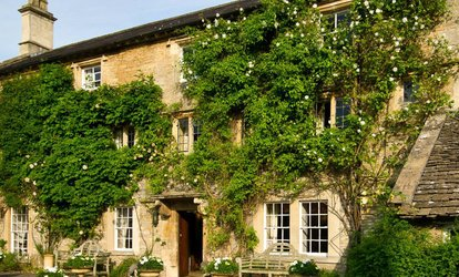 Two AA Rosette Two-Course Lunch, Coffee, Garden Entry for Two or Four at Guyers House Hotel & Restaurant (Up to 41% Off)