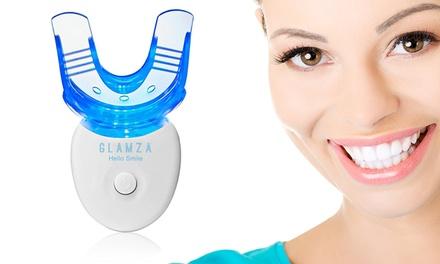 Glamza Hello Smile: 2x Dispositivo led per sbiancamento dei denti con gel (10 ml)