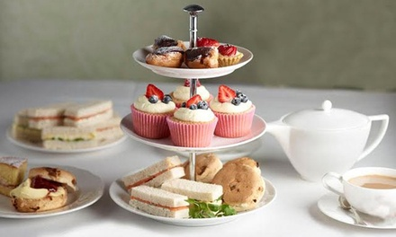 Traditional Afternoon Tea for Two or Four at Eden Wine Bar and Restaurant (Up to 52% Off)