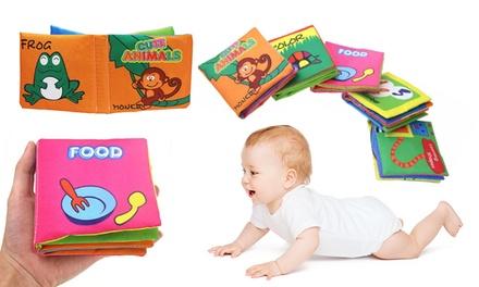1, 2 ou 5 livres en tissu pour bébés