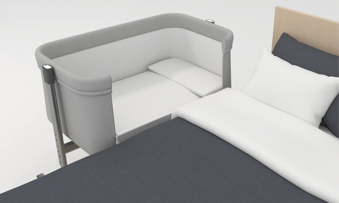Interbaby Near Co-Sleeping Baby Crib in Choice of Colour (£80.99)