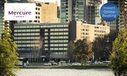Melbourne: OneNight Stay for Two People in Choice of Room with Option to Add Breakfast at Mercure Melbourne Albert Park