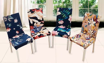 Stretchable Dining Chair Covers