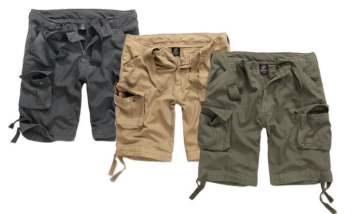 Pantaloncini multitasche da uomo