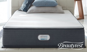 "Beautyrest Platinum 13"" Hybrid Mattress. Free White Glove Delivery."