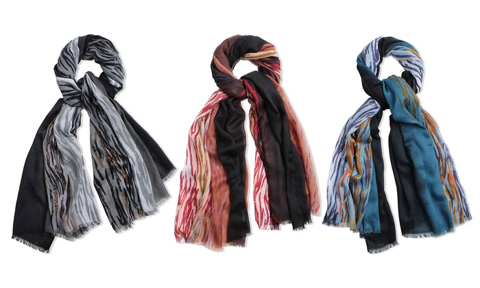 Feria Mode Women's Multicolored Tide Scarf